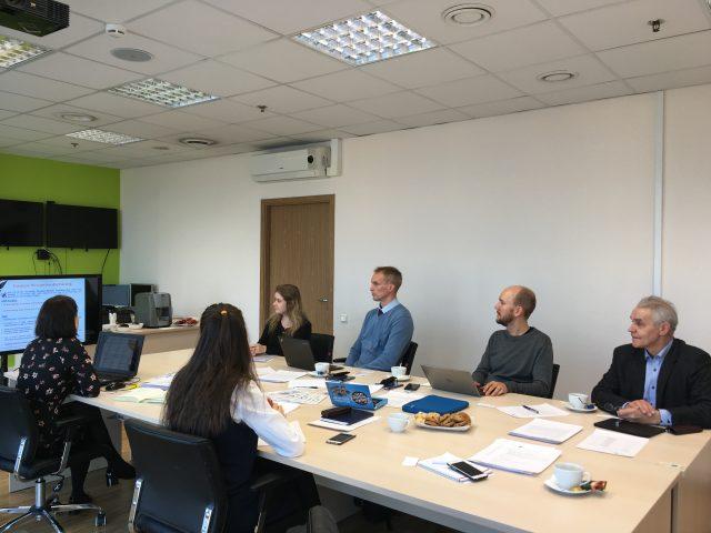 Первая встреча по проекту BalticSatApps